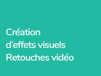 Formation After Effects Création d'effets visuels et retouches vidéo