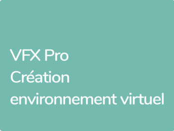 Formation After Effects, création d'environnement virtuel