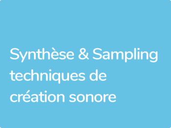 Formation synthèse sonore et shampooing avec Xavier Coller