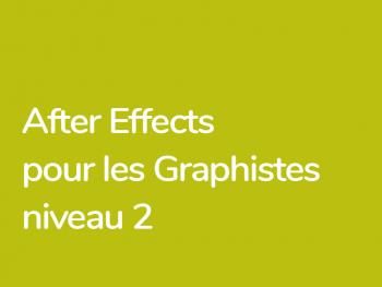 Techniques avancées dans After Effects pour les graphistes