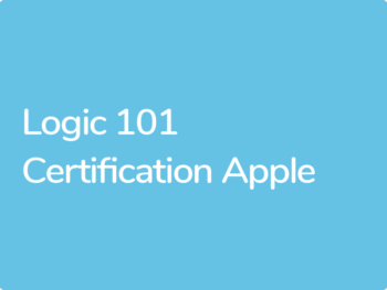 Certification Apple Logic 101 avec Jean-Louis Hennequin